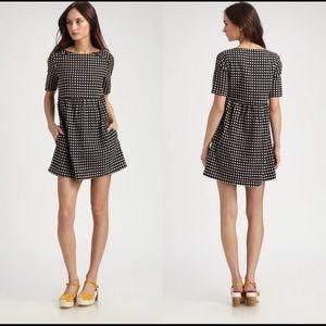 ACE & JIG | Polka Dot linen blend mini dress M